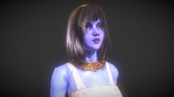 Princess Kiya (MediEvil) 3D Model