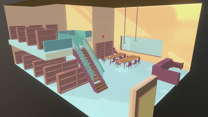 Glim Library 3D Model