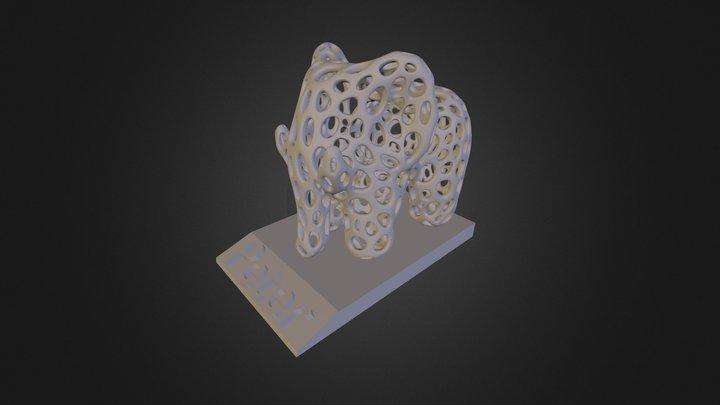 Elephant Peter 3D Model