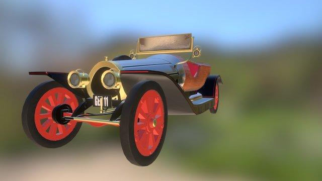 Gen 11 Car (Clean) 3D Model