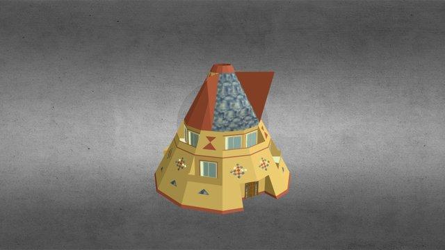 Tepee by mmaradin 3D Model