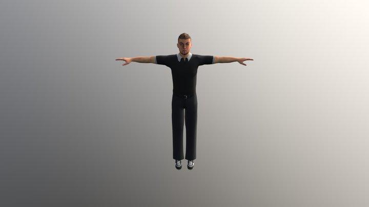 Normal Character 3 3D Model