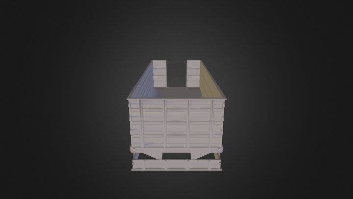 12 Knapheide Grain Box-v2 Packed 3D Model