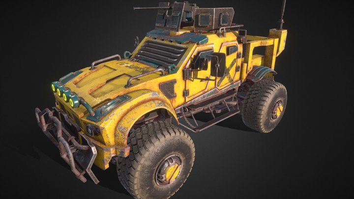 Oshkosh M-ATV Reinvented 3D Model