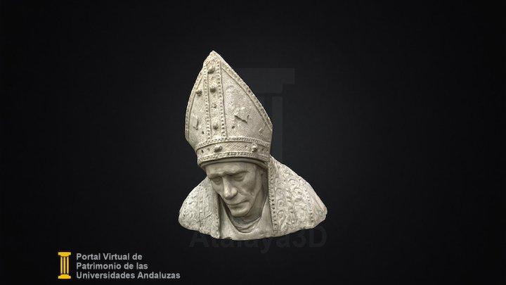 Busto de San Fulgencio 3D Model