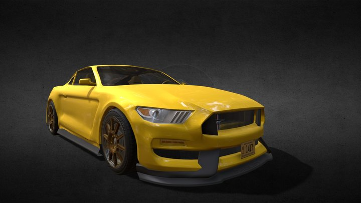 Ford Shellby GT350 3D Model