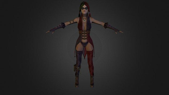 Harley_Quinn 3D Model