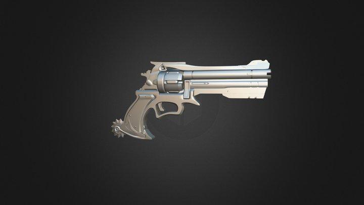 револьвер 3D Model