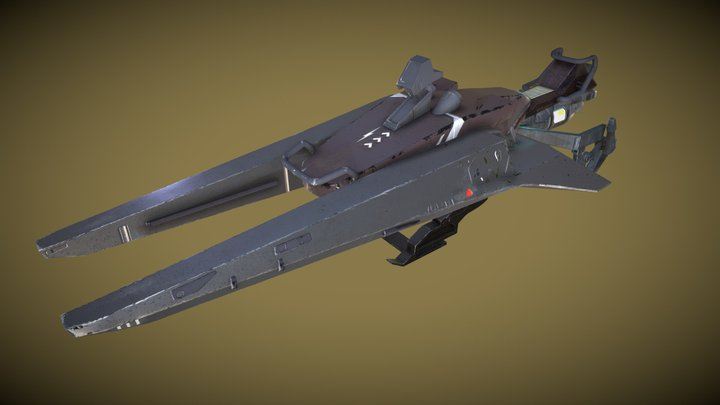 Destiny Sparrow 3D Model