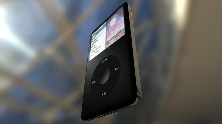 iPod Classic High Quality Production Model 3D Model