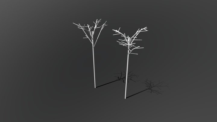 Tree-1&2 3D Model