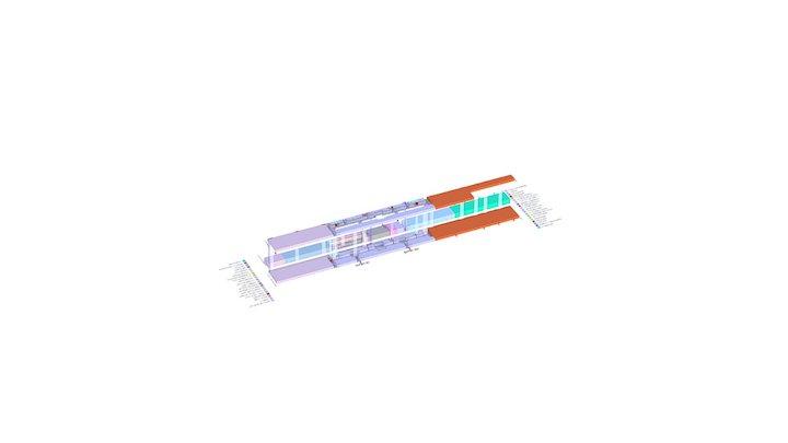 PL17-0005-MY_MALL-AJMAN-BLOCK MODEL 3D Model