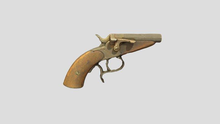 Starting Pistol 3D Model