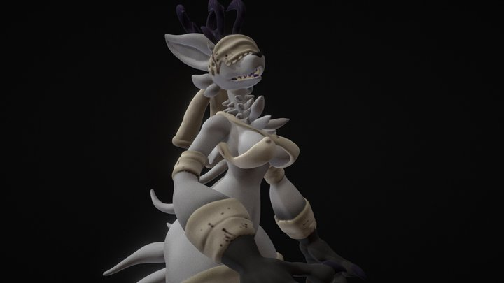 Amelia 3D Model