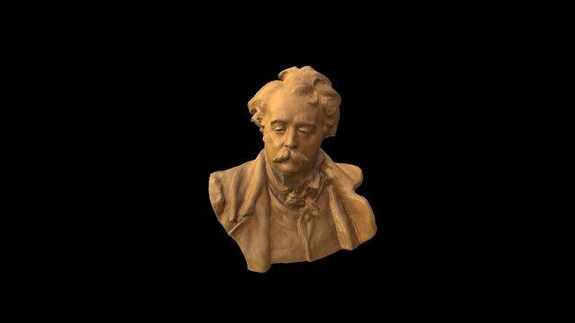Sculpture Head 01 3D Model