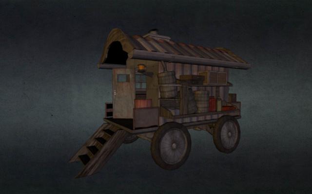 scrap 'n junk Gipsywagon 3D Model