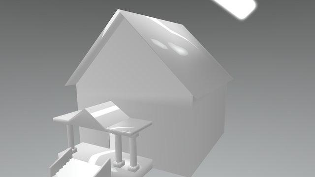 2 Floor House 3D Model