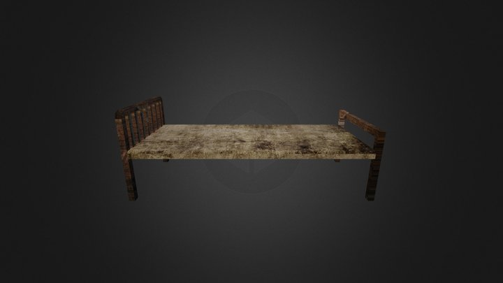 Dirty Bed 3D Model