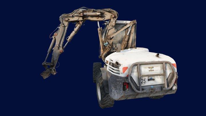 Banshee Tractor 3D Model