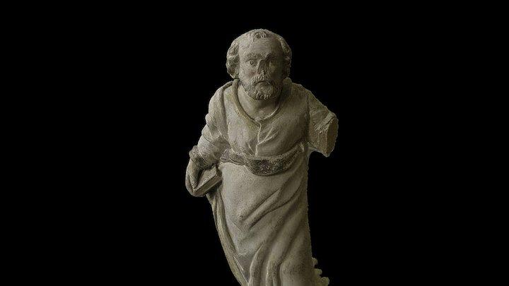 Apostel Peetrus babtisteeriumist 3D Model