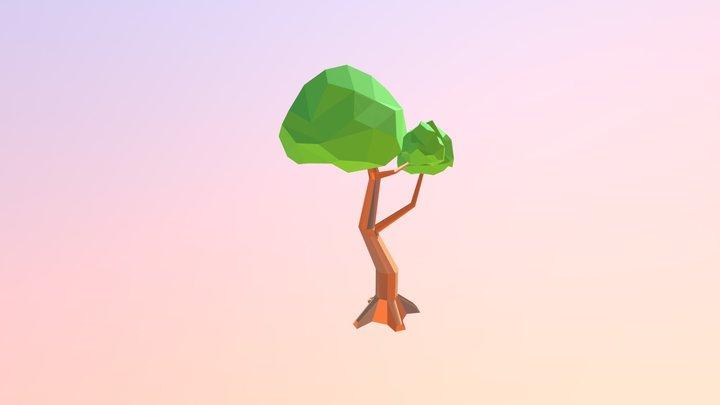 LowPoly Tree 3D Model
