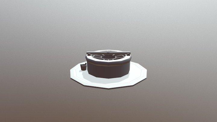 Pozo del Pueblo 3D Model