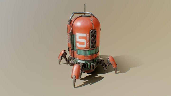 Sentaro Bot Number 5 3D Model