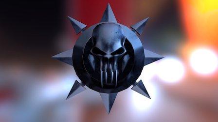 Mu Phoc Logo / Shield - Low Poly 3D Model