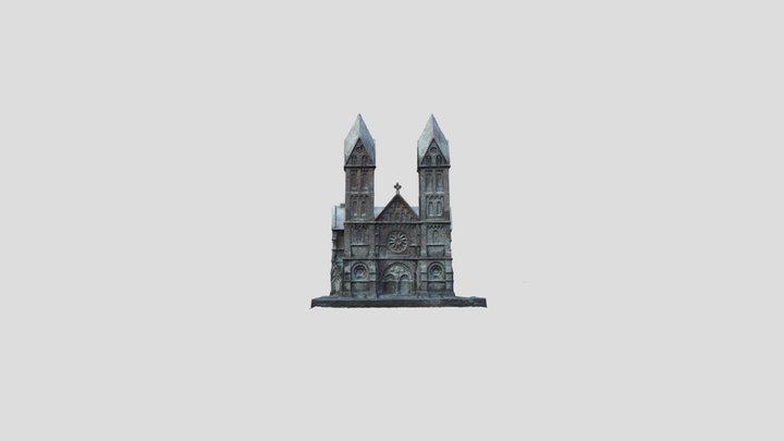 Michael Franke; St. Lambertus Immerath 3D Model