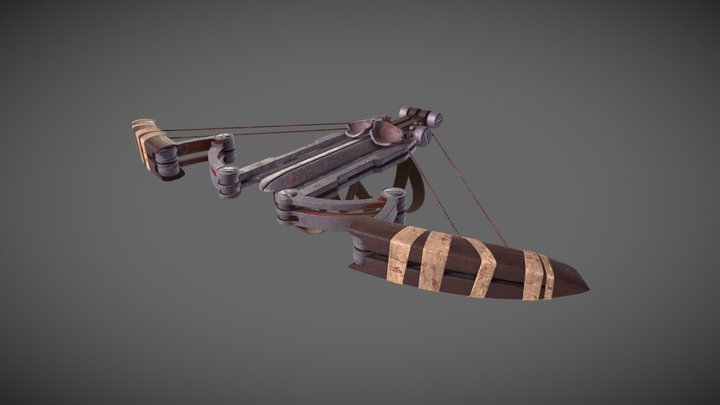 Oddworld Stranger's Wrath Crossbow 3D Model
