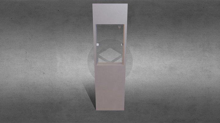 Kit 06 Janela Basculante Invertida 3D Model