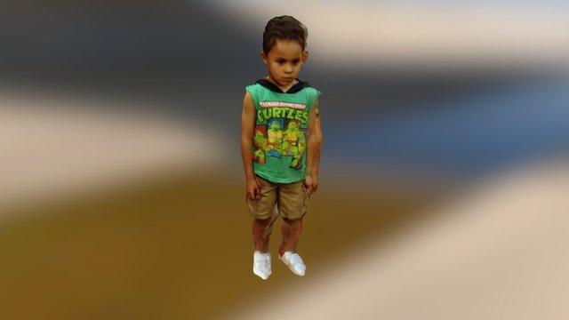 rods kid 3D Model