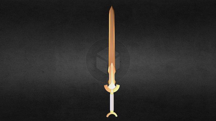 Bronze Longsword 3D Model