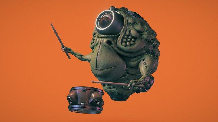 The Umbulatron of The Great Intergalactic Show 3D Model