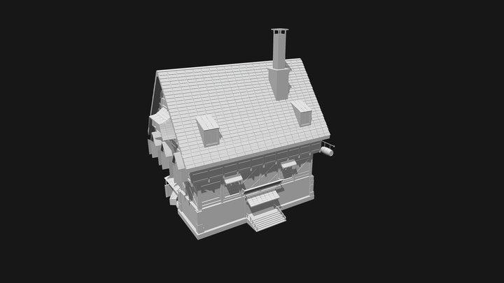 Medieval Inn Concept 3D Model