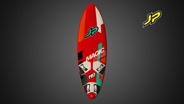 JP Magic Ride FWS 2016 3D Model