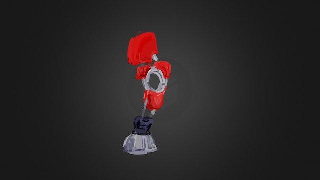 Mech leg - Tilt Brush 3D Model
