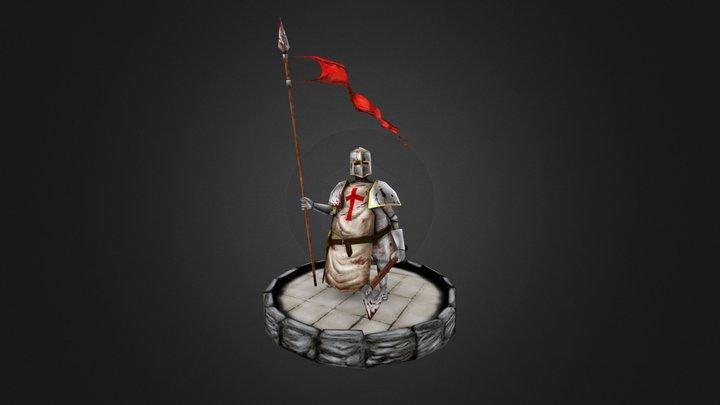 Templar Knight 3D Model