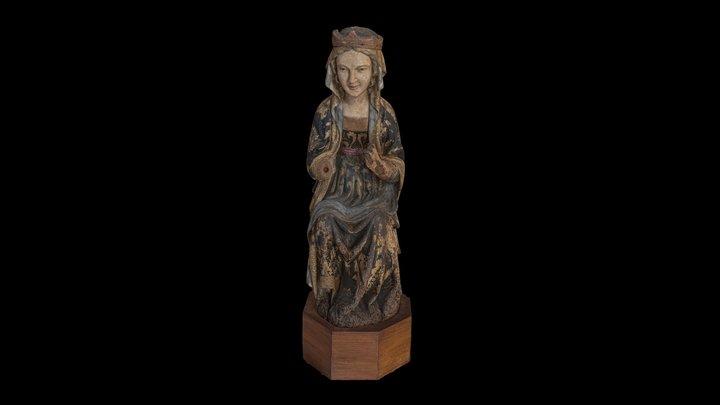 Vergine Immacolata di Pacio Bertini, XIV secolo 3D Model