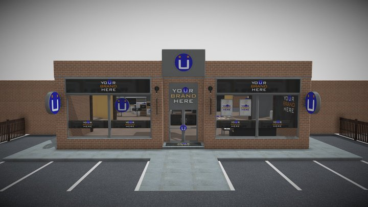 KuwlVu Virtual Showroom 3D Model