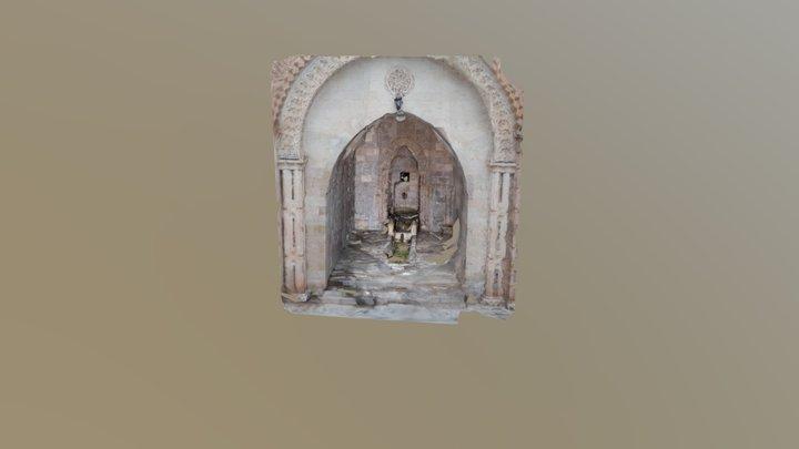 Mardin-Fountain 3D Model