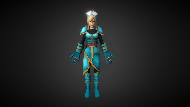 The Protector 3D Model