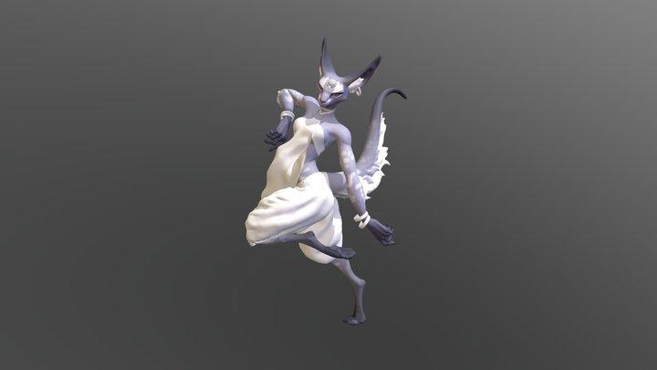 MESH Fox 3D Model