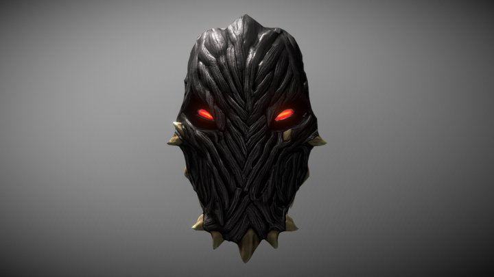 Mask of Shadows 3D Model