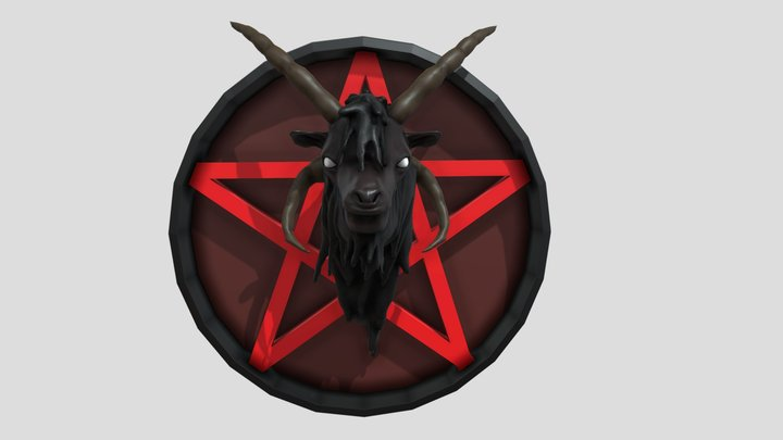 The most heavy metal goat ever 3D Model