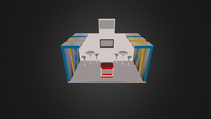 STAND ACMA 5X3 3D Model