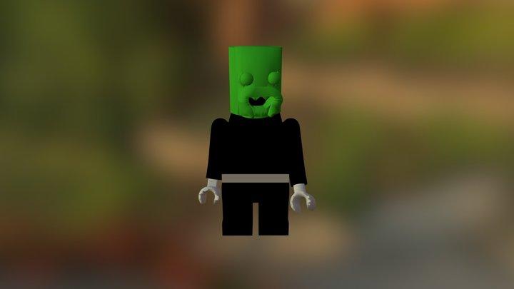 Lego Man Assembly 3D Model