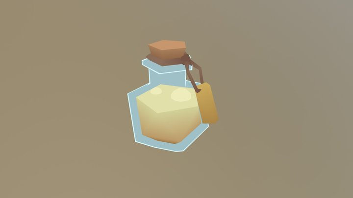 Liquid Luck 3D Model