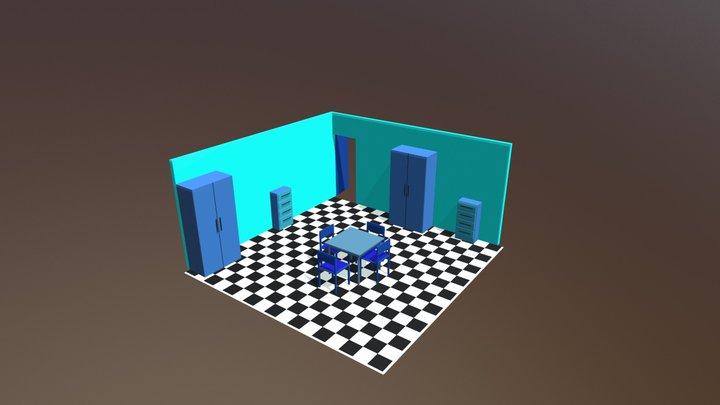 Zimmer 3D Model