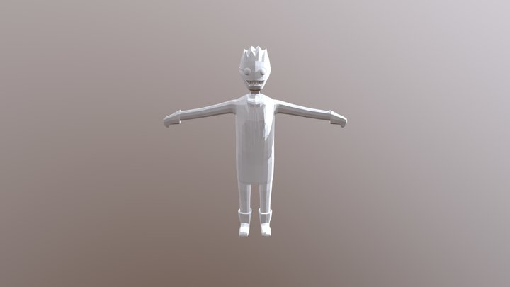 Game Character 2 3D Model